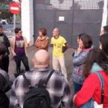 MEDIO CENTENAR DE PERSONAS EN RUTA: CONTRA LA REAPERTURA DEL CIE Y CONTRA EL NEGOCIO EN LAS FRONTERAS