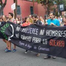 NO EN NUESTRO NOMBRE: NO AL ENVÍO DE TROPAS DESDE CANARIAS A NINGÚN LUGAR, A MALI TAMPOCO