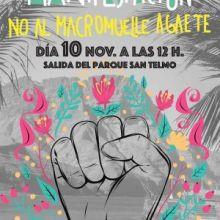 "Agaete Sin MacroMuelle invita a salir este sábado 10 de noviembre a la calle contra una obra ""sobredimensionada"" e ""innecesaria"""
