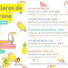 Se pone en marcha en Firgas un programa gratuito de Talleres de Verano