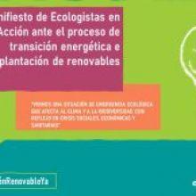 LA AVALANCHA DE GRANDES PROYECTOS DE ENERGÍAS RENOVABLES PONE EN RIESGO UNA TRANSICIÓN ENERGÉTICA JUSTA Y ECOLÓGICA