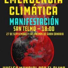 MANIFIESTO CANARIO DE ADHESIÓN A LA HUELGA MUNDIAL POR EL CLIMA: 27 DE SEPTIEMBRE 2019