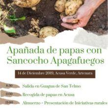 APAÑADA DE PAPAS - SANCOCHO APAGAFUEGOS, EL SÁBADO 14 DE DICIEMBRE EN ACUSA - ARTENARA