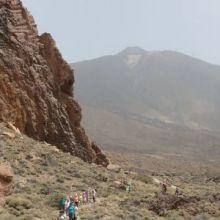 Ben Magec- Ecologistas en Acción advierte del grave impacto que actividades como el Bluetrail tienen en el Parque Nacional del Teide.
