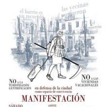 """El sábado 2 de febrero tendrá lugar en Las Palmas de Gran Canaria una MANIFESTACIÓN """"En defensa de la ciudad como espacio de convivencia"""""""