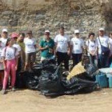 Se realizó con éxito la Acción Medioambiental consistente en la limpieza ciudadana del Barranco de Bañaderos (Arucas)