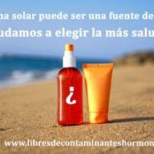 Elegir un buen filtro solar protege tu salud y la naturaleza