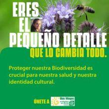 Ecologistas en Acción presenta: Eres el pequeño detalle que lo cambia todo.