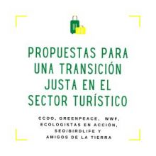 PROPUESTAS PARA UNA TRANSICIÓN JUSTA EN EL SECTOR TURÍSTICO