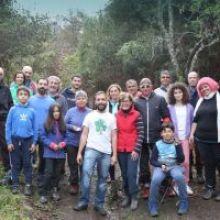 Plantados 150 nuevos árboles para recuperar la Laurisilva en Valsendero