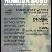 """DOCUMENTAL: """"HONDAR 2050. NUESTRO RESIDUO, NUESTRO PROBLEMA"""", EN LAS PALMAS DE GRAN CANARIA EL MIÉRCOLES 13 DE MARZO"""