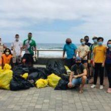 Exitosa limpieza de la costa de San Andrés (Arucas)